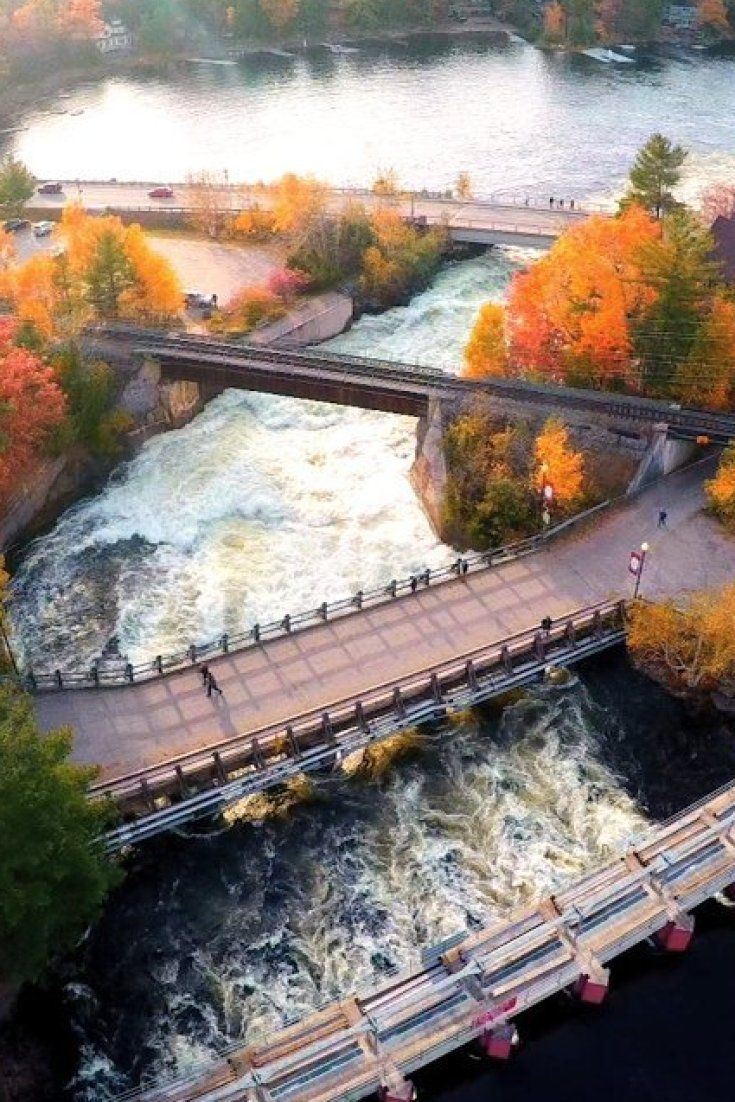 The Bala Falls Hydroelectric Plant Is a Moral Injustice! The Bala Falls are the main tributary connecting water from the Algonquin and Muskoka Lakes watershed to Georgian Bay, Lake Huron and eventually the ocean. Turbines are tough to navigate for fish and other aquatic life looking to migrate, often acting like a giant blender. Shame on the Ontario government!