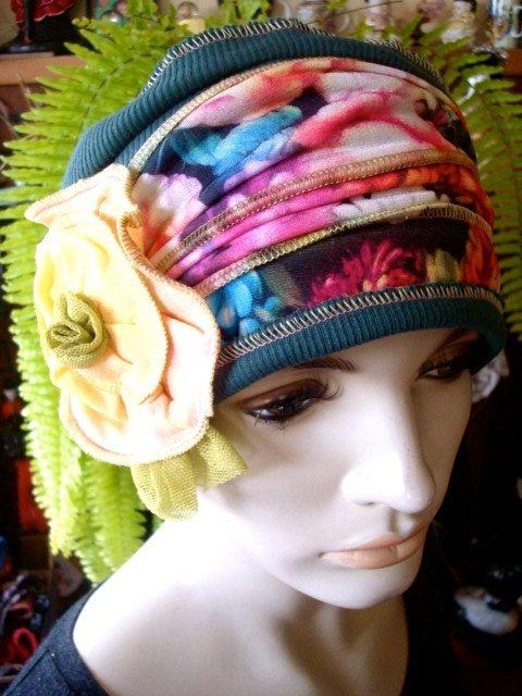 wide headband Womens winter Beautiful by GypsyLoveHeadbands