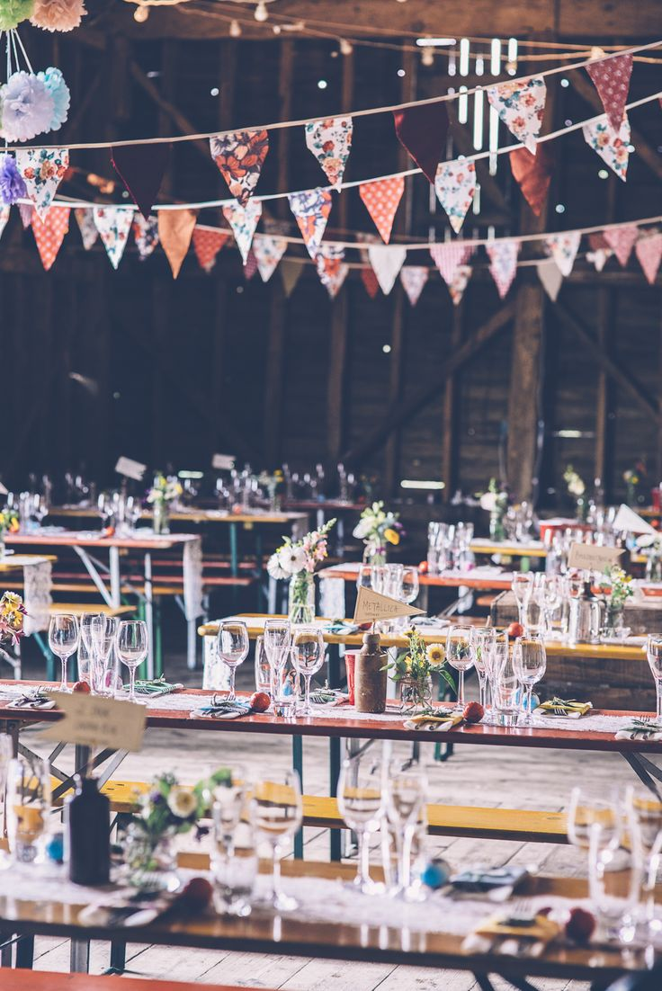 Rustic Barn Wedding Venue - Image by Louise Griffin | See the wedding in full here