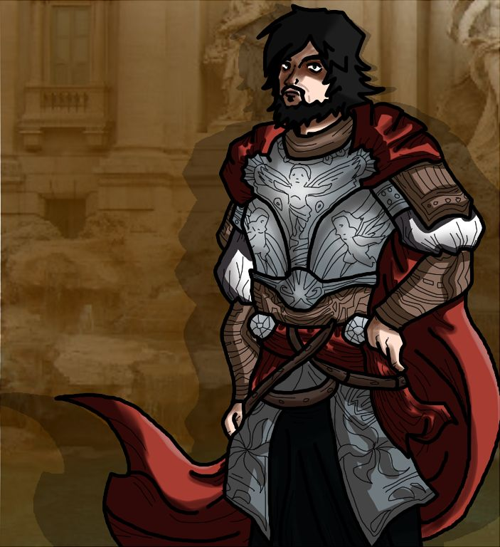Cesar Borgia - Assassin's Creed by ~SparkusThunderbolt on deviantART