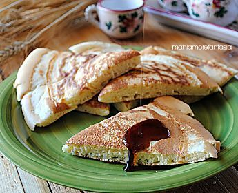 Pancake gigante per chi va di fretta   ricetta pancake