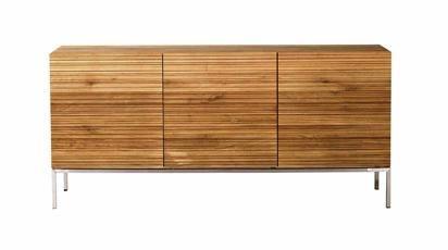 Oak Stonecut Sideboard 4 Opening Doors