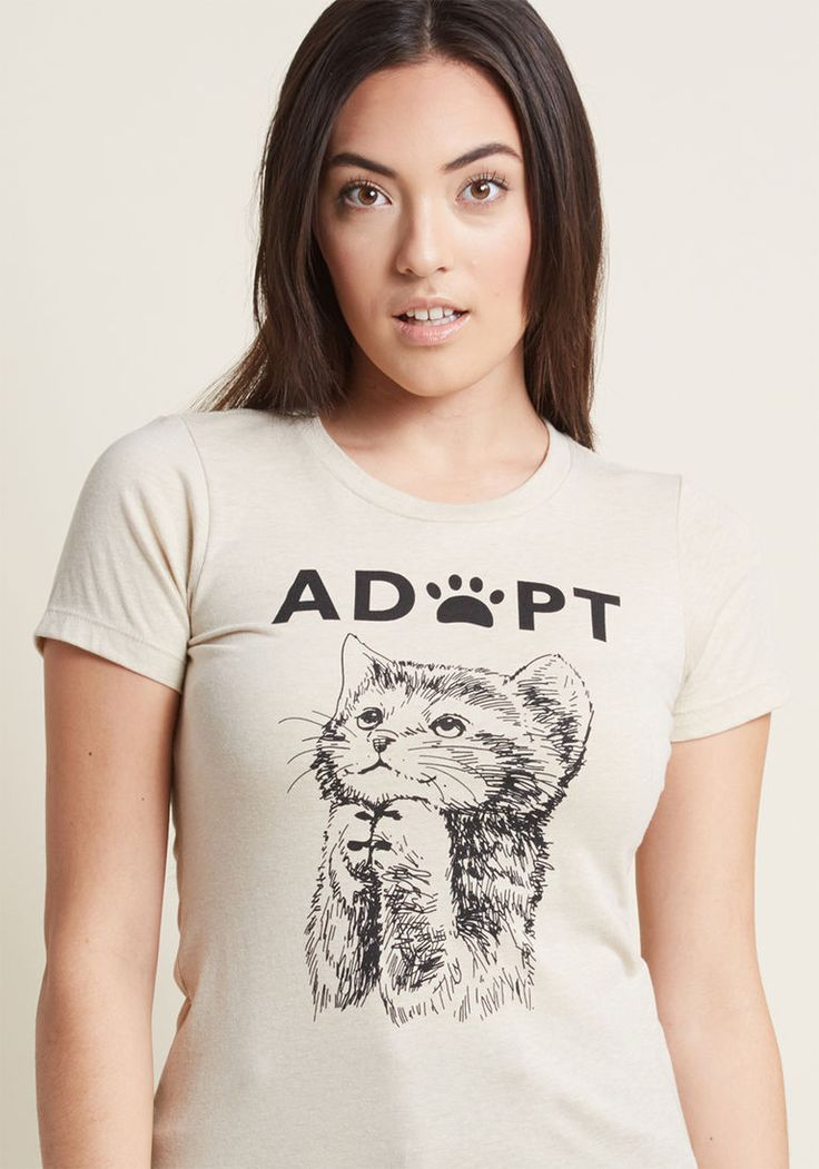 Opt to Adopt Graphic Tee in XXL