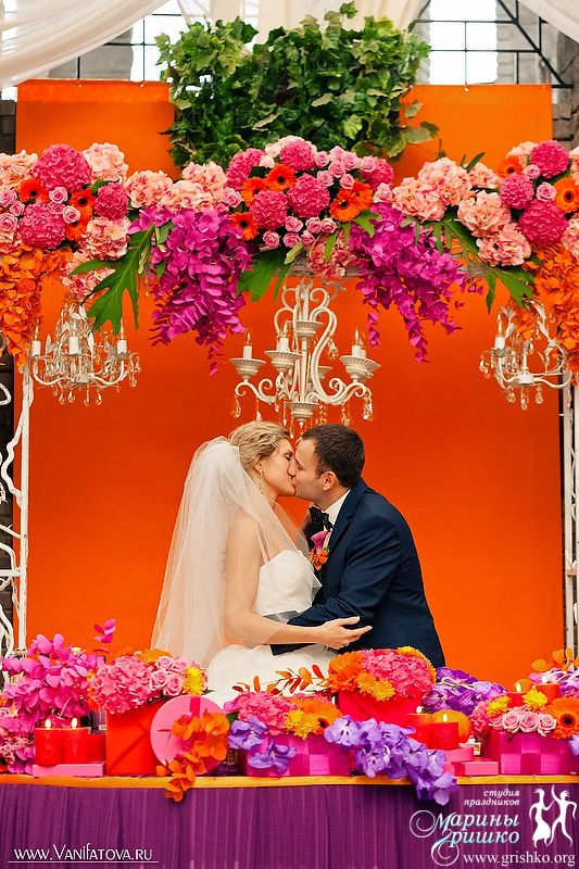 Свадьба в стиле - Малиновая осень - портфолио агентства свадеб и праздников Марии Гришко grishko.org