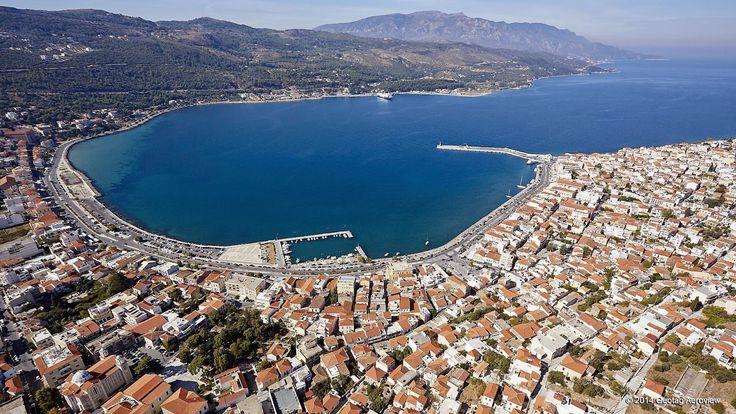 Βαθύ Σάμου - Vathy Samos   Πρωτεύουσα Σάμου - Capital City of Samos
