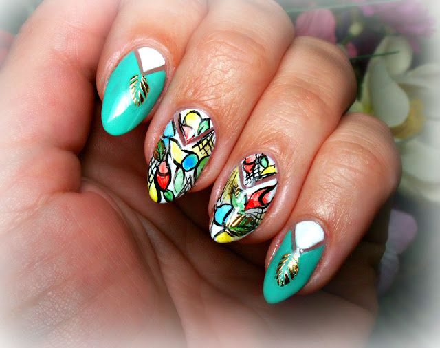 Nails art. Nail design.