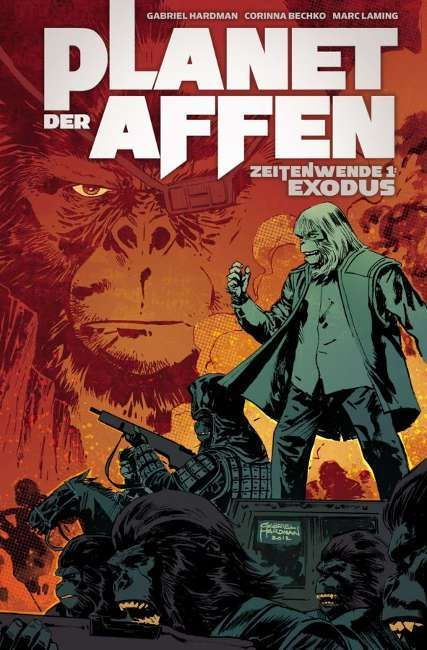 Comic-Review: Planet der Affen - Zeitenwende 01: Exodus (Cross Cult)