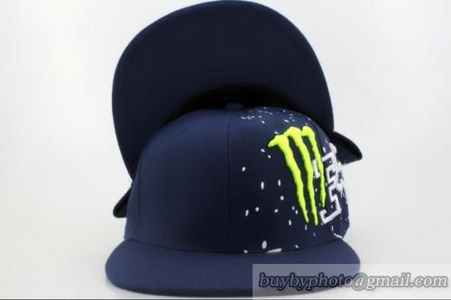 Monster Energy FOX Snapbacks Caps Hats Sports Caps Navy Blue ... 83e5398de1ef