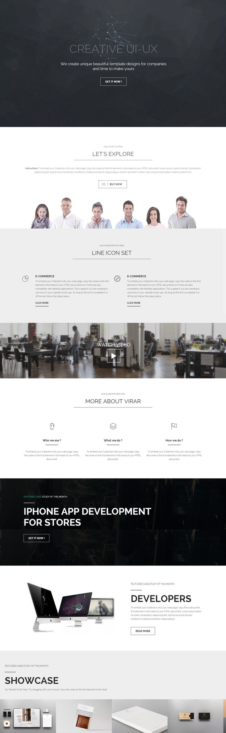 smart header, concept, idea