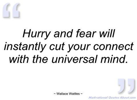 hurry and fear will instantly cut your wallace wattles