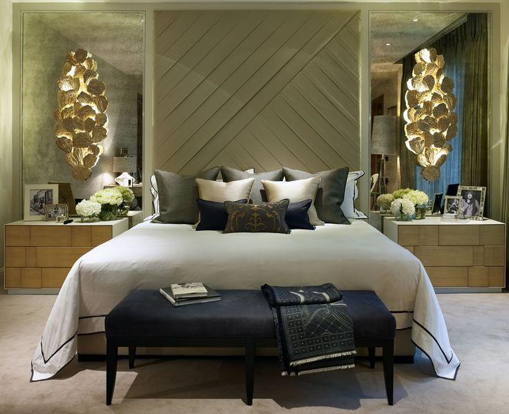 Cheslea, London | Luxury Interior Design | Master Bedroom | Lighting