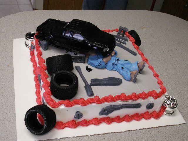 Auto Mechanic Cake Ideas