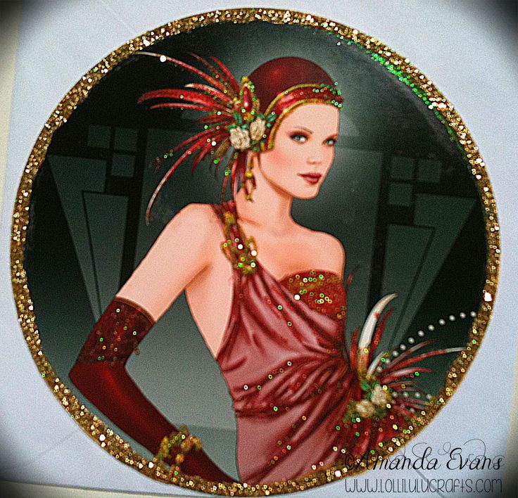 pictures of art deco ladies - Google Search