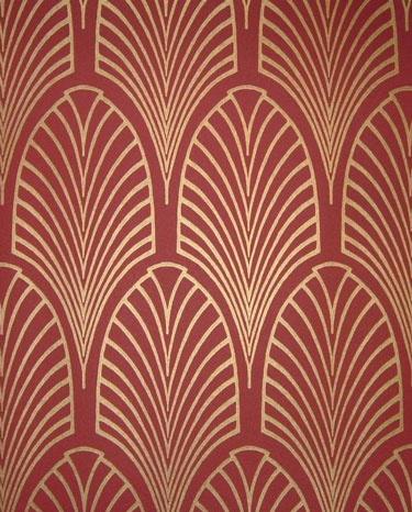 Art nouveau wallpaper