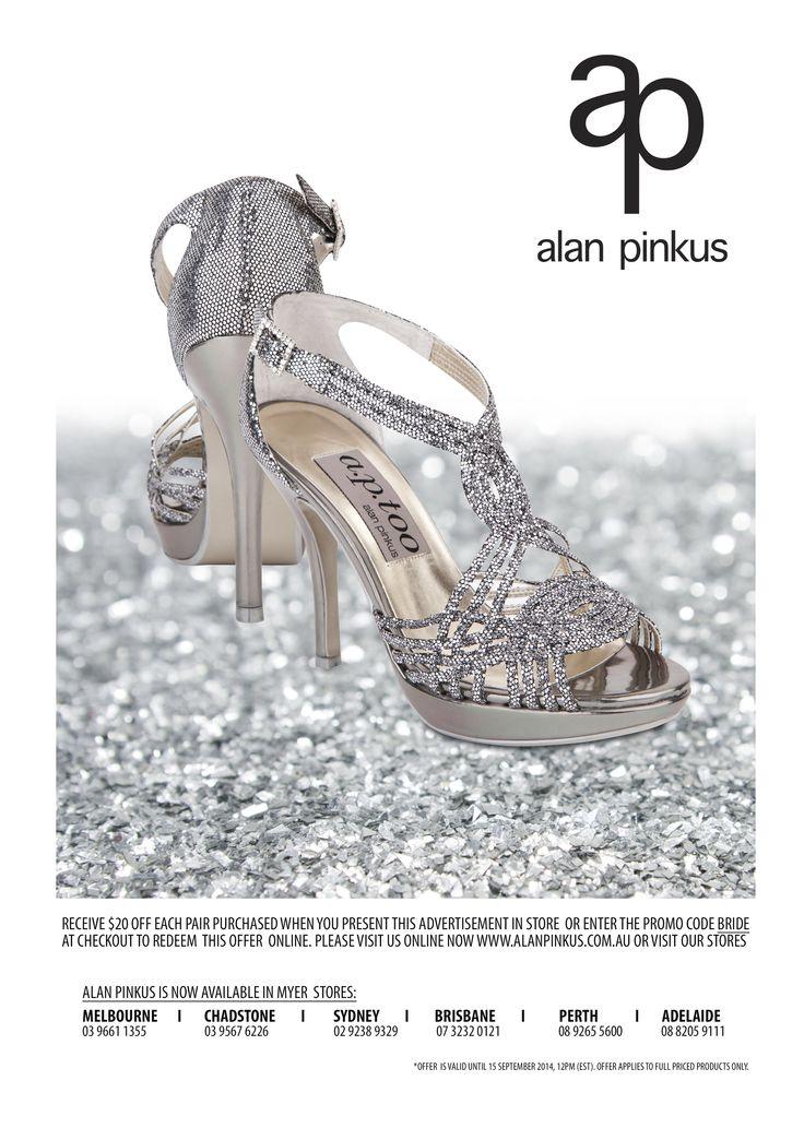 BRIDE Magazine  Wave - Graphite Lustre http://www.alanpinkus.com.au/