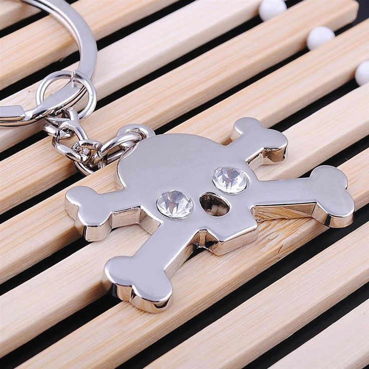 Keychains - New Arrival Pirate Skull Metal Key Ring #1820038