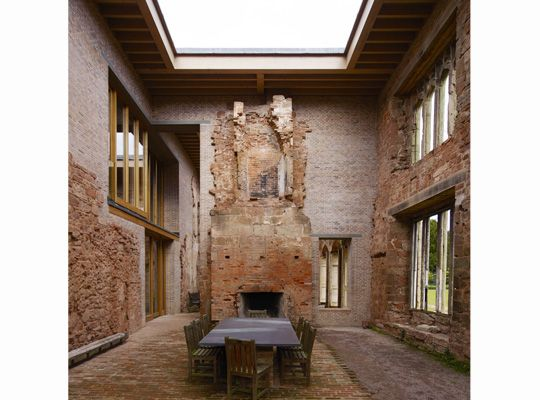 The world's most impressive Superhouses. Sydney Living Museum 29 August 29 November 2015.   Astley Castle - Yes it'sbrick!