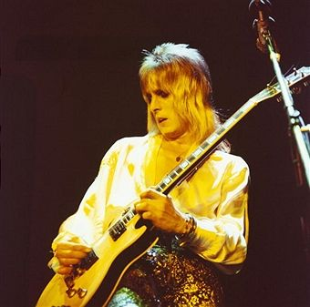 Mick Ronson Performs On Stage