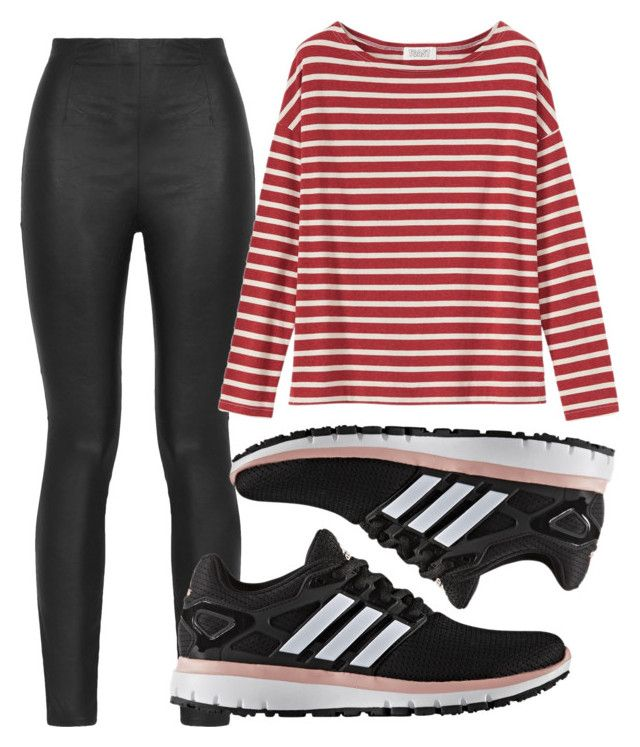 """""""Geen titel #111"""" by metalura ❤ liked on Polyvore featuring Armani Jeans, Toast and adidas"""