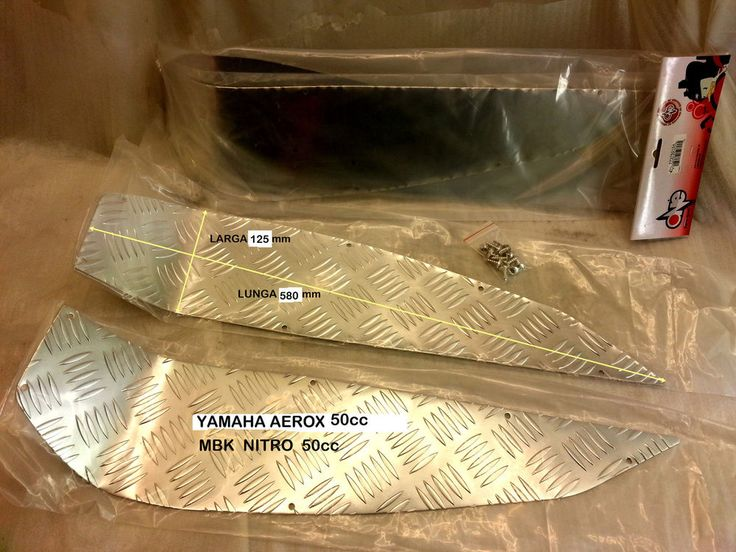 pedane POGGIAPIEDI in alluminio MBK-YAMAHA nitro-aerox 50cc