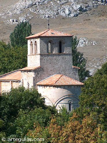 Monasterio de Rodilla. Joya del románico de la Comarca de la Bureba