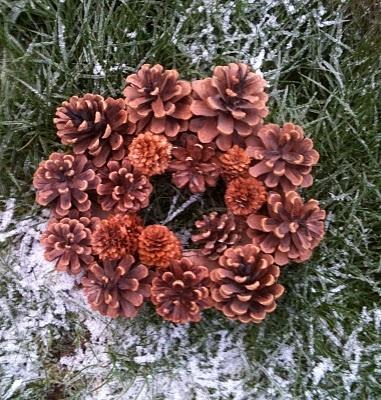 Ghirlanda di Pigne - Pine Cones Wreath
