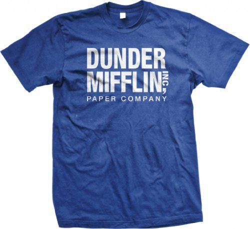 The Office TV Show Dunder Mifflin Paper Men's Royal Blue T-shirt M Emo http://www.amazon.com/dp/B001AJ3NL8/ref=cm_sw_r_pi_dp_pTG7vb1WQKKZR