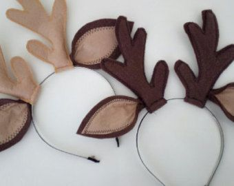 how to make deer ears - Google Search                                                                                                                                                                                 More