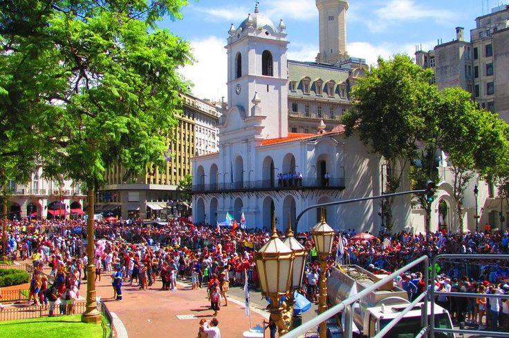 Comienzo del #DakarArgentina en #BuenosAires   #VeranoEnArgentina