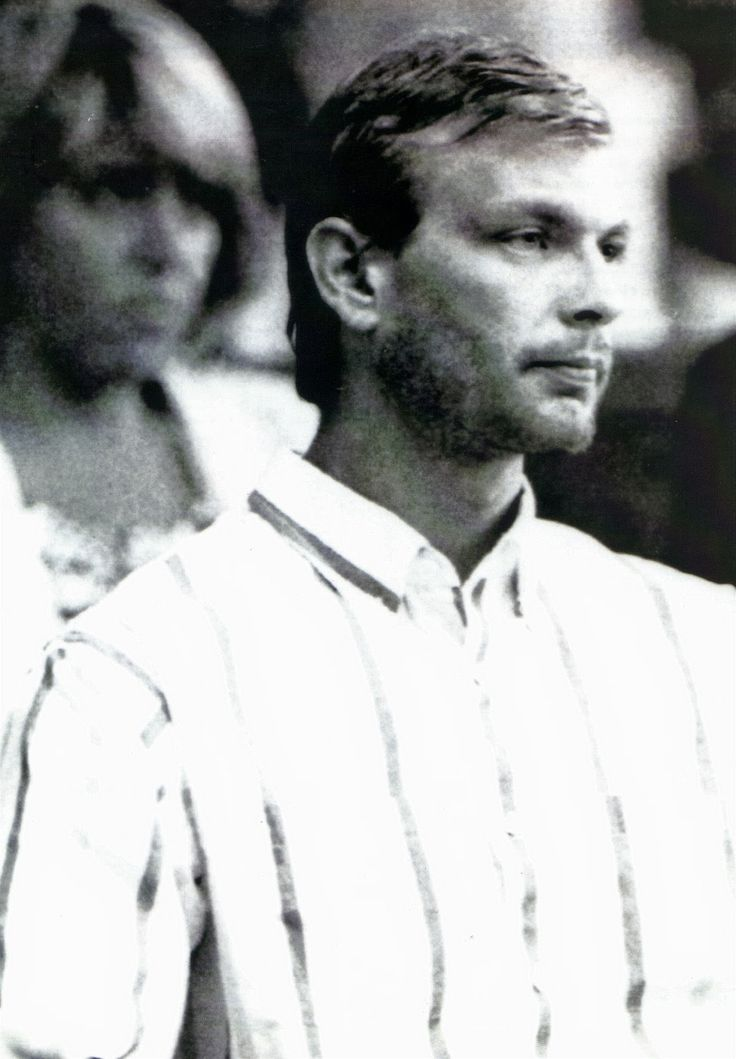 Jeffrey Dahmer also known as the Milwaukee cannibal. An American serial killer and sex offender. He raped, murdered and dismembered his victims. Killed 17 men/boys between 1978 and 1991. His later murders involved necrophilia and cannibalism.