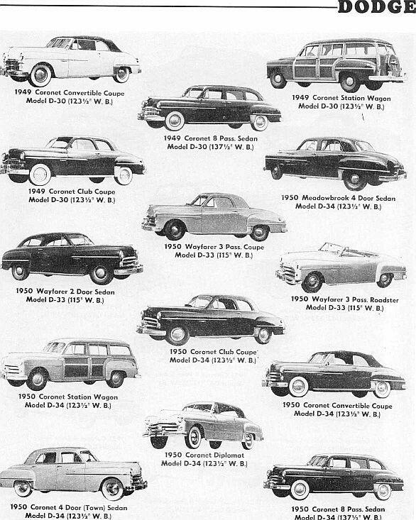 157 best dodge  1950