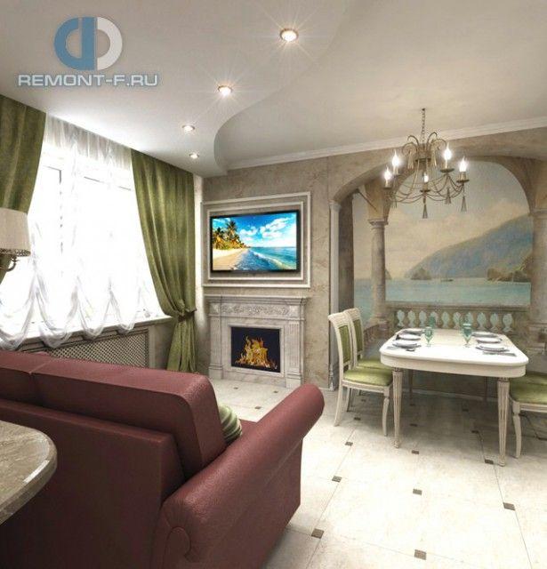 Столовая в классическом стиле. Фото интерьера квартиры
