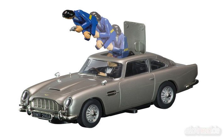 Scalextric - James Bond Aston Martin DB5 (C3664A) - Schleudersitz
