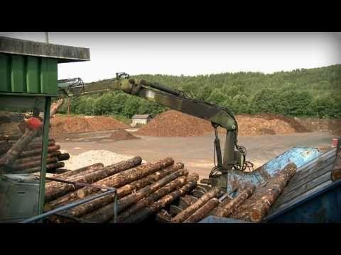 Fra tømmerstokk til ferdig produkt. #film #tømmer