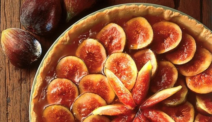 Torta de figo (Fig Pie) -- (Note: Click on the icon at the upper right corner of your computer for the English translation)