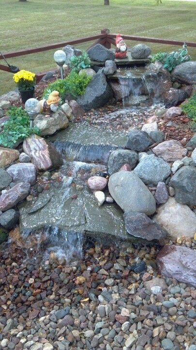 36 Best Rock Fountain Ideas Images On Pinterest Fountain
