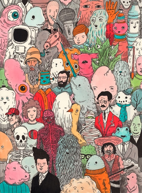 Las ilustraciones de Andrew Rae | Revista Pul