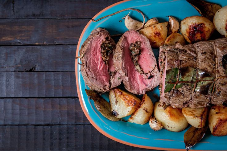 Porcini And Stilton Stuffed Beef Fillet - Make delicious beef recipes easy, for any occasion