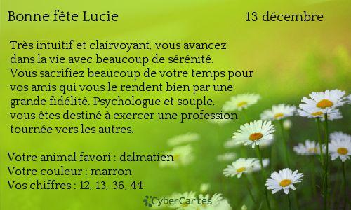 Lucie http://www.prenoms.com/v2/services-prenom/signification-prenom.asp ♥ Voyance Privée au 04.93.44.68.72 www.chantalemedium.com Avec le médium de votre choix au 01.72.76.09.38 (Offre Spéciale 10€/10min) FORUM VOYANCE GRATUITE  08.99.19.97.19   Audiotel France DOM-TOM 08.92.68.23.88  http://www.chantalemedium.com/horoscope/  Vos chiffres de chance http://www.chantalemedium.com/horoscope-du-mois-et-num%C3%A9ros-de-chance/ Facebook PRO Chantale Pure Médium Azur Astro Voyance Conseils…