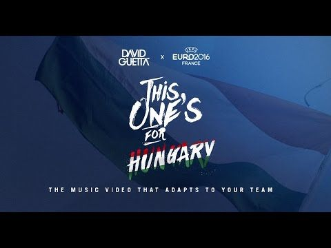 David Guetta ft. Zara Larsson - This One's For You Hungary (UEFA EURO 20...
