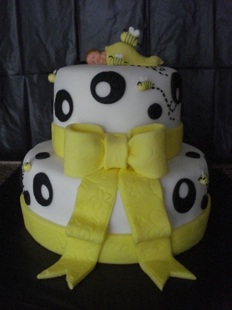 Baby Shower Fondant Cakes Springfield Mo by Celebrations by Sonja