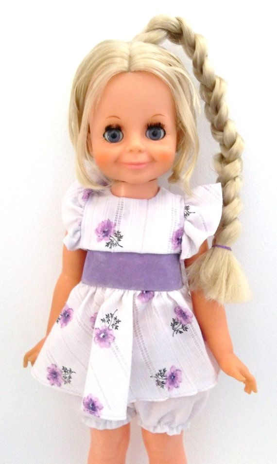 Crissy Doll Price | Ideal Crissy Cousin Velvet Doll - Beauty Braider Velvet Vintage 1970s