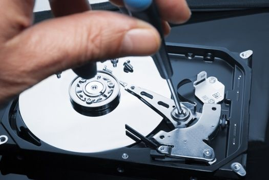 how to recover memory from broken hard drive