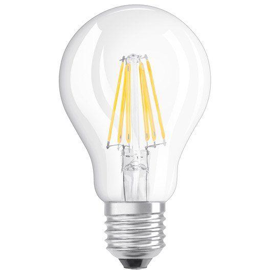 Ampoule Led A Filament Standard E27 806 Lm 60 W Blanc Chaud Osram Ampoule Led E27 Ampoule Led Lampe E27