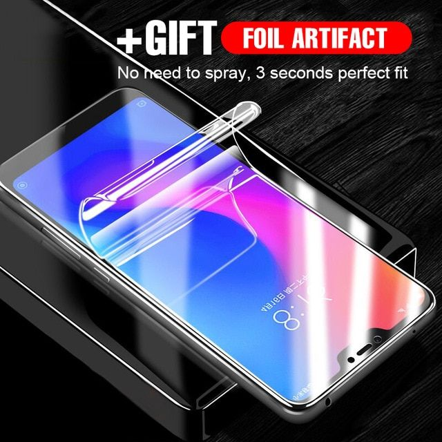 Full Protective Hydrogel Soft Film For Xiaomi Redmi 4X Note 4 4X 5