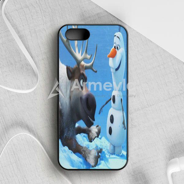 Sven And Olaf Funny Cartoon iPhone 5|5S|SE Case | armeyla.com