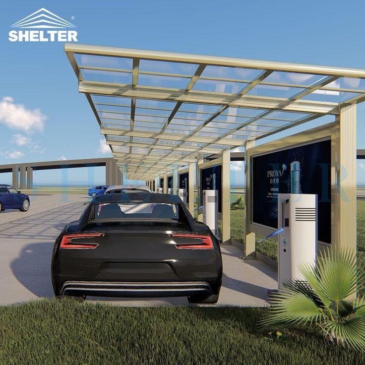 Carport DetailSUNSHIEL Aluminum Polycarbonate Carport