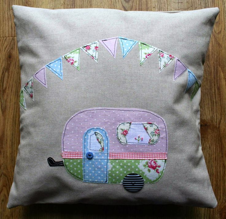Lynsey's Place: A Caravan Cushion ...............