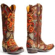 Mexicana western boots Olivia Brass by Old Gringo