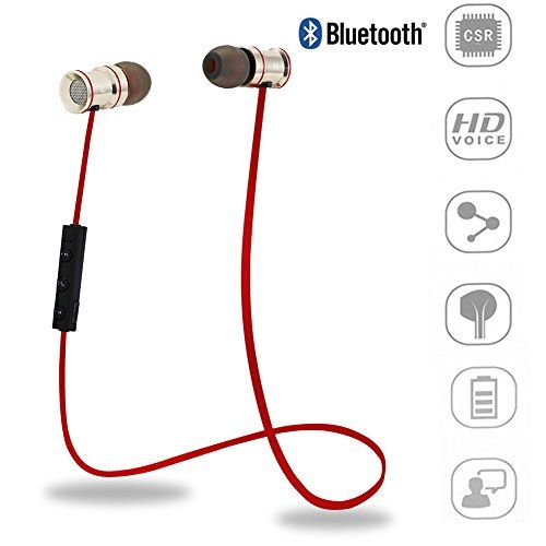 Earbuds with microphone in pink - earbuds with microphone gym